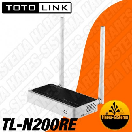 Router Inalambrico Toto Link 300Mbps N TL-N200RE