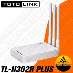 Router Inalambrico Toto Link 300Mbps N TL-N302R Plus