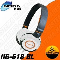 Auricular Fit Color NogaNet NG-618 Blanco Manos Libres