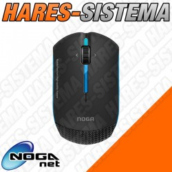 Mouse Mini Noga Net Evolution Series 1000 dpi Azul
