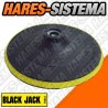 Disco Base de Velcro para Amoladora Ø 125mm Black Jack